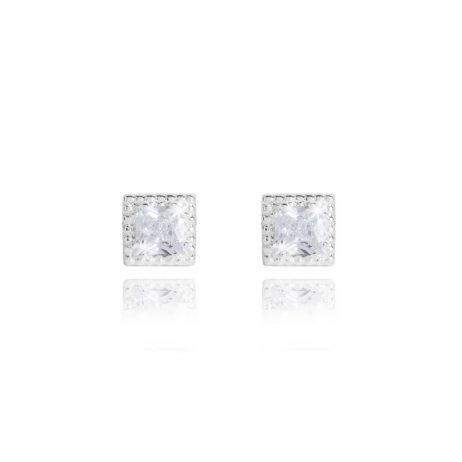 Joma Jewellery Esmee Square CZ Stud Earrings 2831