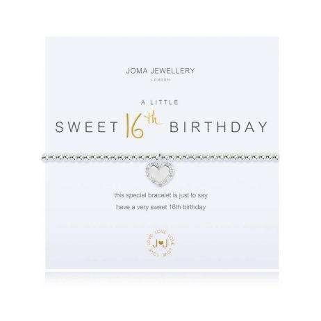 Joma Jewellery A Little Happy Sweet 16th Birthday Bracelet 2924