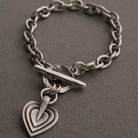 Danon Jewellery Layers Of Love Silver Bracelet