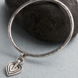 Danon Jewellery Layers Of Love Silver Bangle