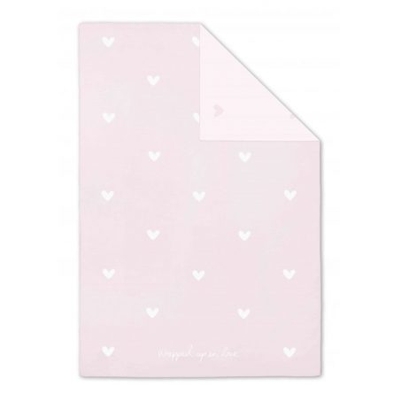 Katie Loxton Soft Baby Blanket Pink Wrapped Up In Love