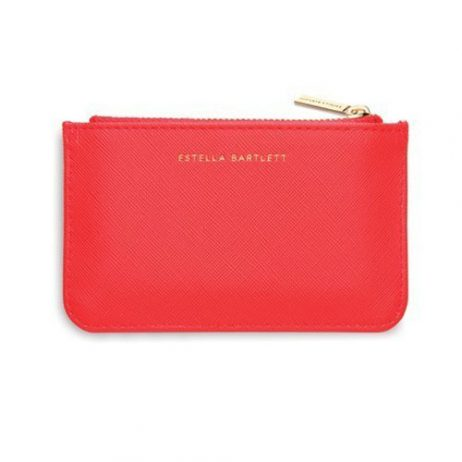 Estella Bartlett Coin Purse Coral XOXO