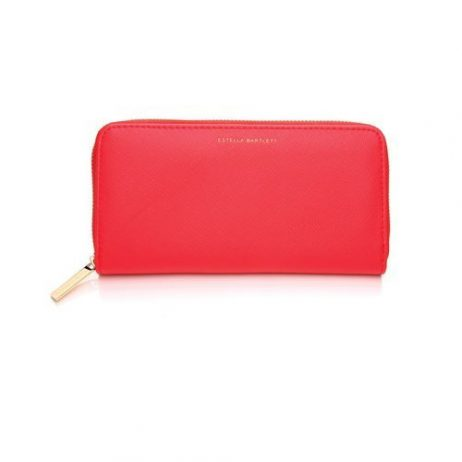 Estella Bartlett Zip Wallet Purse Coral