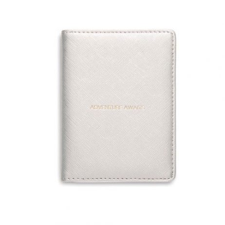 Estella Bartlett Adventure Awaits Passport Case Silver