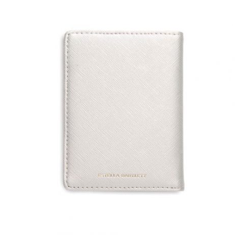 Estella Bartlett Escape The Ordinary Passport Case Silver