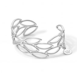 Sence Copenhagen Cuff Bangle Matt Silver