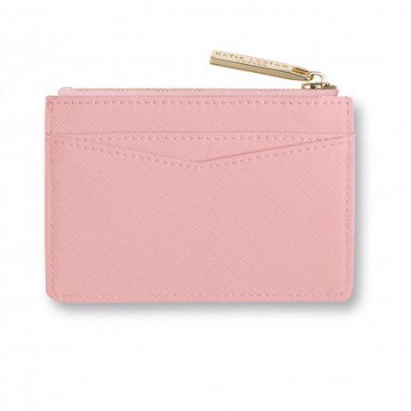 Katie Loxton Card Holder Shine Bright Blush Pink KLB278