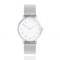 Katie Loxton Silver Plated Rai Watch KLW002