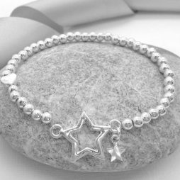 Life Charm You Are a Super Star Silver Bracelet LC003BW