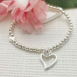 Life Charm You Are A Fabulous Friend Silver Bracelet LC009BW