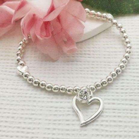 Life Charm You Are A Fabulous Friend Silver Bracelet