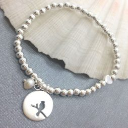 Life Charms One In A Million Silver Bracelet