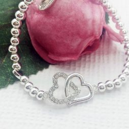 Life Charm You Mean The World To Me Silver Bracelet LC033BW