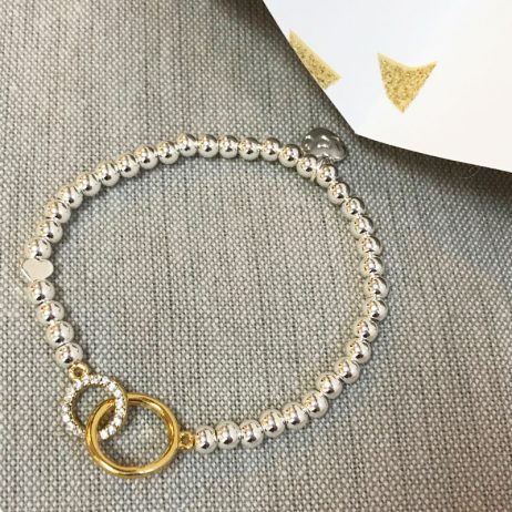 Life Charms Love Between Mother and Daughter Bracelet