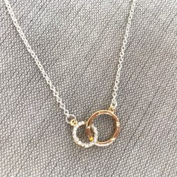 Life Charms Love Between Mother and Daughter Necklace LC054N