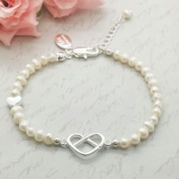 Life Charms Thank You For Helping Us Tie The Knot Bracelet LCW02PKB