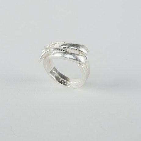 Tutti and Co Jewellery Leith Ring Silver