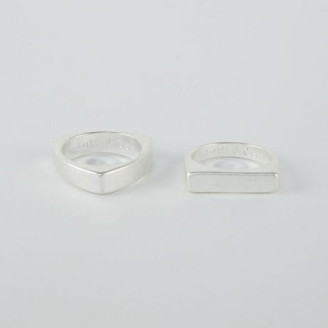 Tutti and Co Jewellery Form Rings Silver - eol