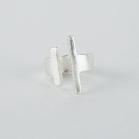 Tutti and Co Jewellery Concept Ring Silver