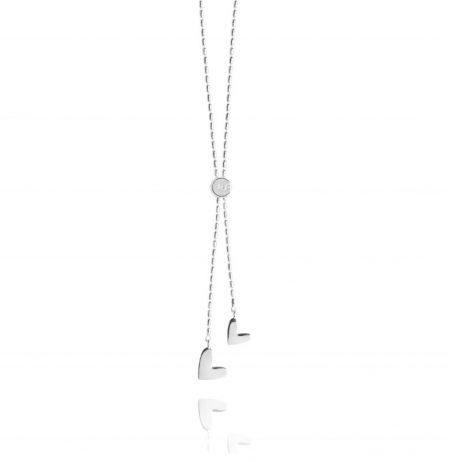 Joma Jewellery Dash Lariat Necklace Heart 2334