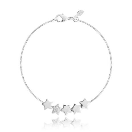 Joma Jewellery Wish Upon a Star Silver Chain Bracelet 2717