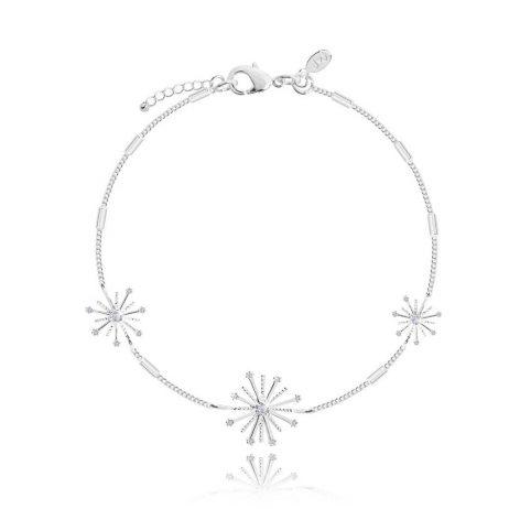 Joma Jewellery Silver Scattered Fireworks Bracelet 2735