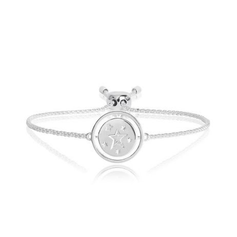 Joma Jewellery Spinning Message Wish Bracelet 2760