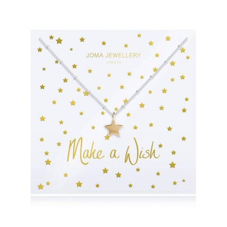Joma Jewellery Make a Wish Star Pendant Necklace 2783