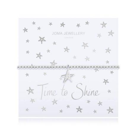Joma Jewellery Time To Shine Star Pendant Bracelet 2784