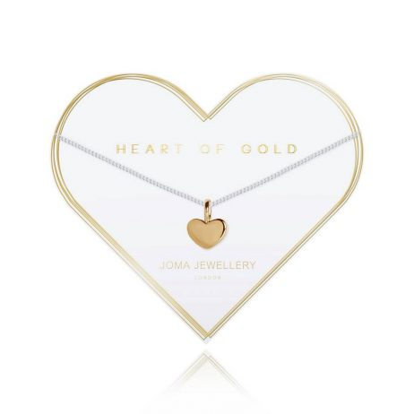 Joma Jewellery Heart Of Gold Necklace 2792