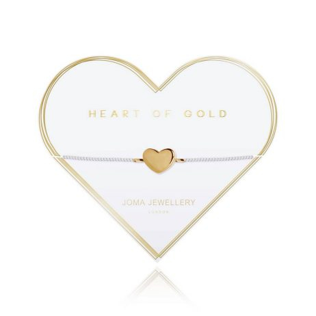 Joma Jewellery Heart Of Gold Bracelet 2793
