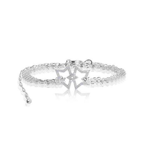 Joma Jewellery Sparkling Wish Pave Star Trio 2797