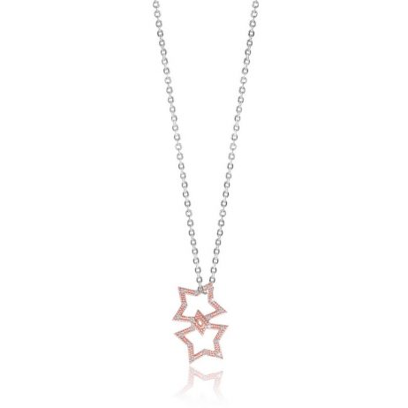 Joma Jewellery Sparkling Wish Rose Gold Pave Star Trio 2798 - EOL