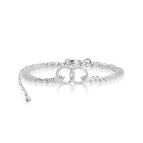 Joma Jewellery Sparkling Infinity Pave Circle Trio 2799 - EOL