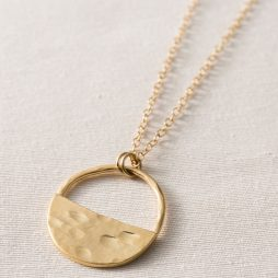 Danon Jewellery Inner Circle Fine Gold Necklace *