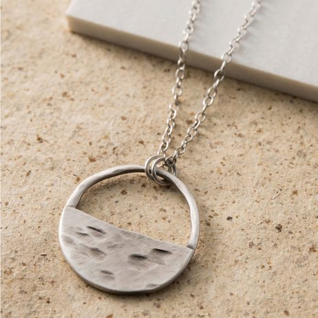 Danon Jewellery Inner Circle Fine Silver Necklace