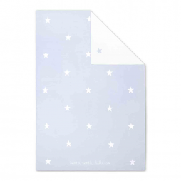 Katie Loxton Twinkle Twinkle Little Star Baby Blanket in Pale Blue