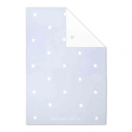 Katie Loxton Twinkle Twinkle Little Star Soft Blue Baby Blanket BA0002