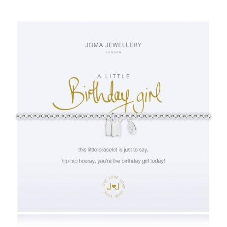 Joma Jewellery A Little Birthday Girl Bracelet 1962