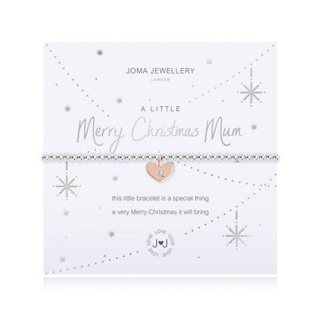 Joma Jewellery A Little Merry Christmas Mum Bracelet 2710