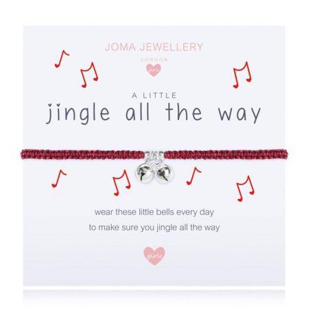 Joma Jewellery Girls A Little Jingle All The Way Bracelet C420 - EOL