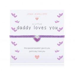Joma Jewellery Girls A Little Daddy Loves You Bracelet C423