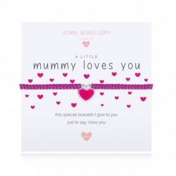 Joma Jewellery Girls A Little Mummy Loves You Bracelet C424