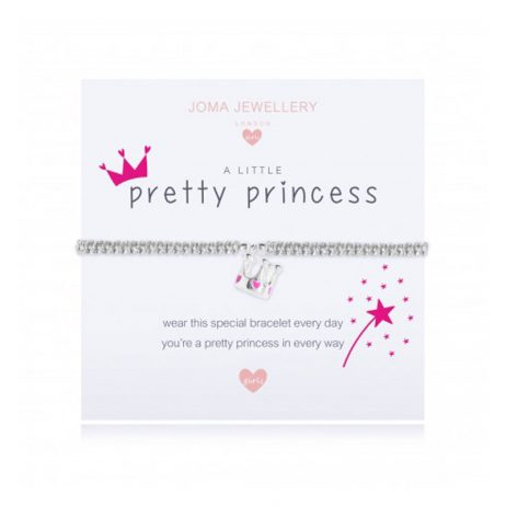 Joma Jewellery Girls A Little Pretty Princess Bracelet C425