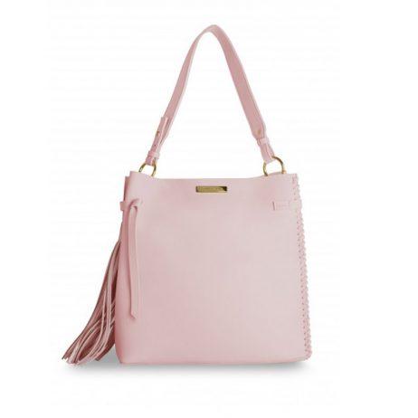 Katie Loxton Pink Florrie Tassel Handbag KLB314