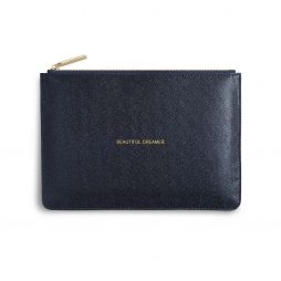Katie Loxton Beautiful Dreamer Navy Glistening Pouch KLB344 *