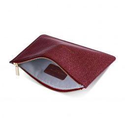 Katie Loxton Always Shine Bright Ruby Red Glistening Pouch KLB345