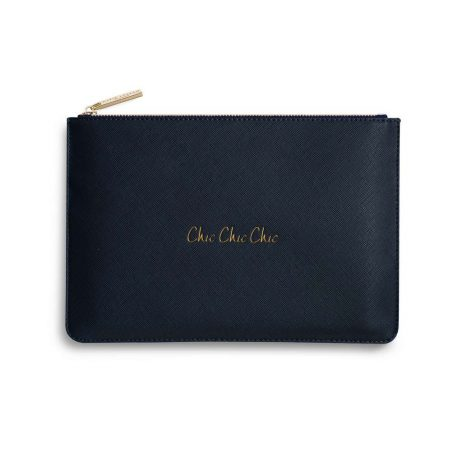 Katie Loxton Chic Chic Chic Pouch (navy) KLB358