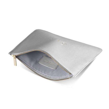 Katie Loxton Bon Voyage! Pouch (silver) KLB359
