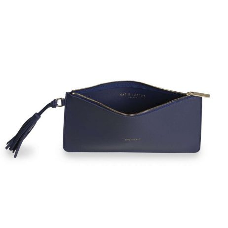 Katie Loxton Florrie Dream Big Midnight Blue Tassel Pouch KLB371
